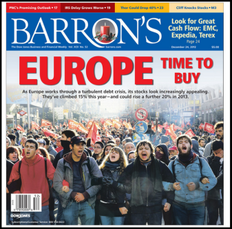 2013-01-02 Barron's Cover - Buy Europe
